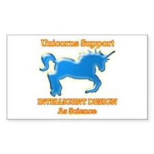Unicorns Support intelligent design as science Sti