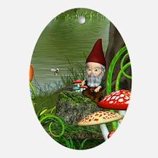 dwarfsland_nook_sleeve_h_f Oval Ornament