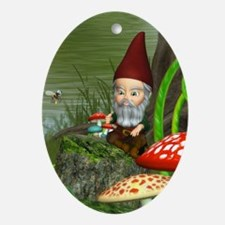 dwarfesland_iphone_3g_case Oval Ornament