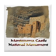 Montezuma Castle Tile Coaster