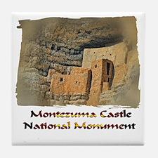 Montezuma Castle Tile Coaster