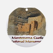 Montezuma Castle Round Ornament