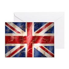 475 Union Jack Flag very large Greeting Card