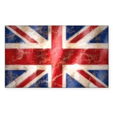 475 Union Jack Flag very large Decal