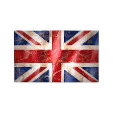 475 Union Jack Flag very large 3'x5' Area Rug