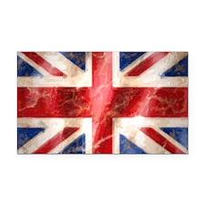 475 Union Jack Flag license p Rectangle Car Magnet