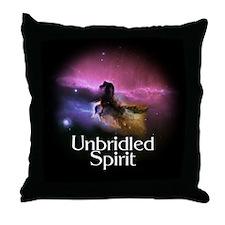 Unbridled Spirit Throw Pillow