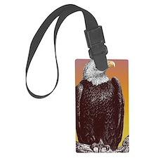 kalebs eagle copy Luggage Tag