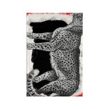 Cheetah2 Kalie Rectangle Magnet