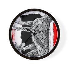 Cheetah2 Kalie Wall Clock