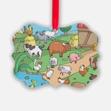 Farm Animals Ornament