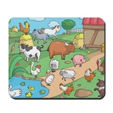 Farm Animals Mousepad