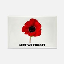 POPPY - LEST WE FORGET Magnets