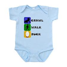 Crawl Walk Ruck Body Suit