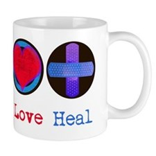 peace_heart_heal Mug