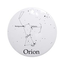 Orion Round Ornament