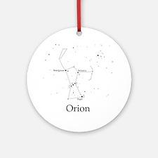Orion Round Ornament