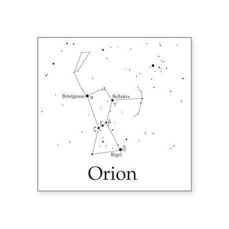 """Orion Square Sticker 3"""" x 3"""""""