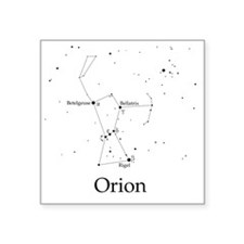 "Orion Square Sticker 3"" x 3"""
