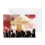 Ex wife christmas Greeting Cards