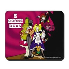 2DD In Wonderland Mousepad