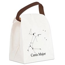 Canis Major Canvas Lunch Bag