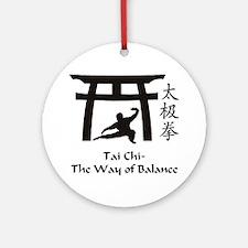 Phil Tai Chi The Way of Balance 201 Round Ornament