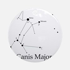 Canis Major Round Ornament
