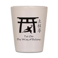 Phil Tai Chi The Way of Balance 2011 (3 Shot Glass