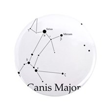 """Canis Major 3.5"""" Button"""