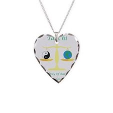 Green Book cover Tai Chi art  Necklace