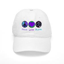 peace_love_nurse Baseball Cap