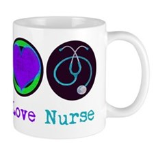 peace_love_nurse Mug