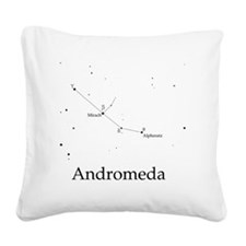 Andromeda Square Canvas Pillow
