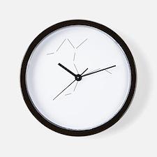 Centaurus Dark Wall Clock