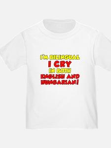 Cry Hungarian And English T-Shirt