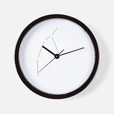 Perseus Dark Wall Clock