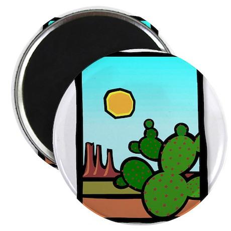 "I Heart Cactus 2.25"" Magnet (100 pack)"