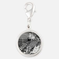 tico cva large framed print Silver Round Charm