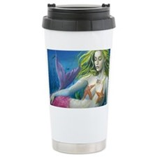 maroon merm Travel Mug