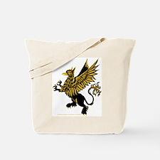 Gryphon Black Gold Tote Bag