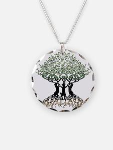 Ferret Tree of Life 2 Necklace