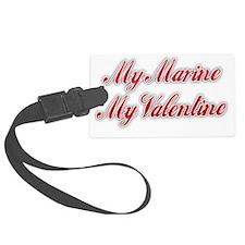 My Marine My Valentine Luggage Tag