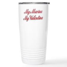 My Marine My Valentine Travel Mug