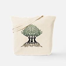 Ferret Tree of Life 2 Tote Bag