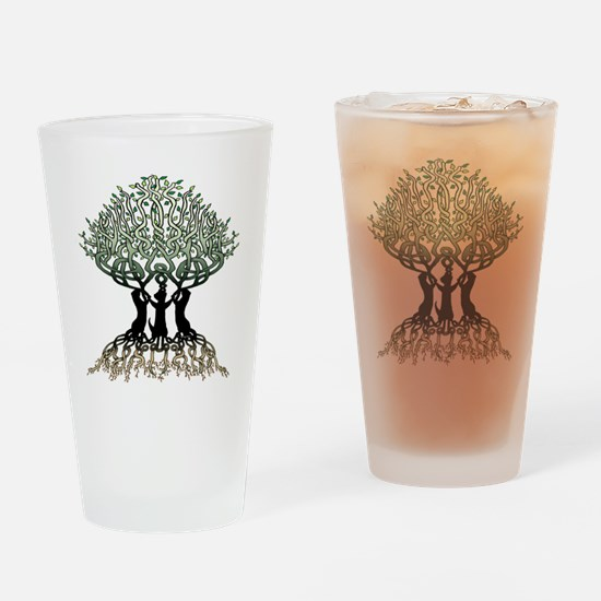 Ferret Tree of Life 2 Drinking Glass