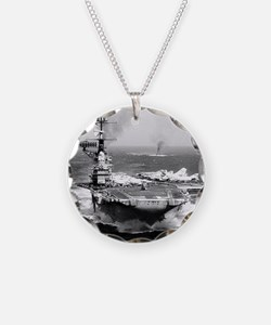 fdr cv framed panel print Necklace