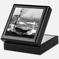 fdr cv framed panel print Keepsake Box