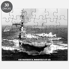fdr cv framed panel print Puzzle