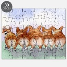 five walk away together Puzzle